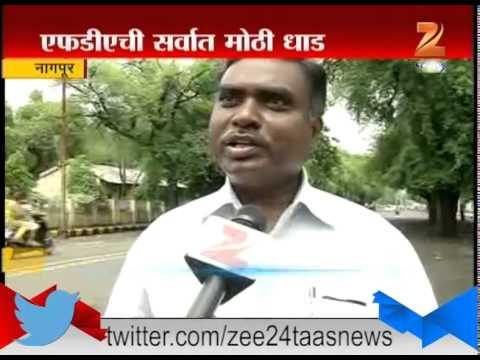 Nagpur : Biggest FDA Raid in Nagpur 26th July 2015