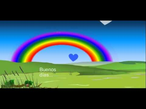 Postales de Buenos Dias - Video Animado