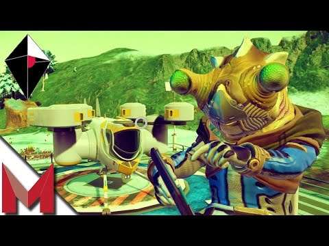 NO MAN'S SKY GAMEPLAY - HOW TO TRADE AND BUYING SHIPS! - Ep3