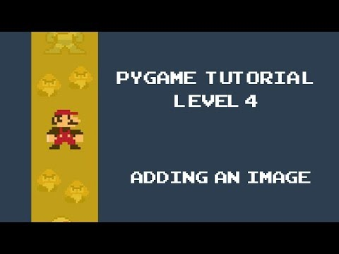 Pygame Tutorial - 4 - Adding Images Into Our Space Invader Game