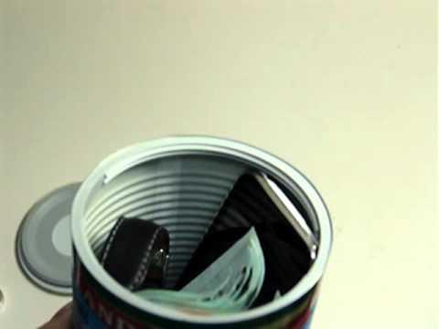 Geldversteck   Dosensafe *Neu   YouTube