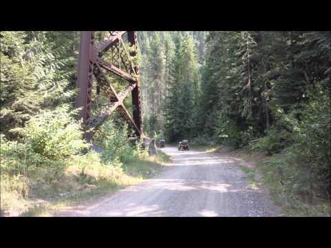 ATV trip 2015, Clarkia to Avery and back
