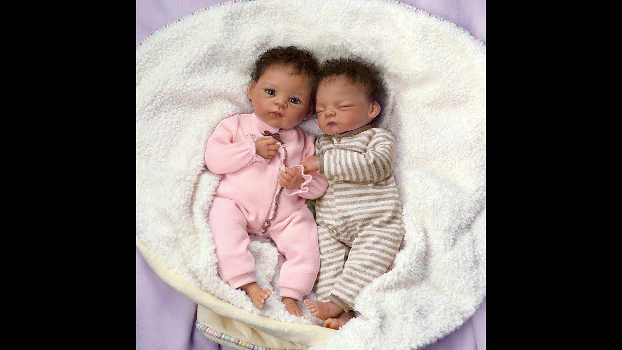 First Silicone Babys Twins Jada Jayden Youtube