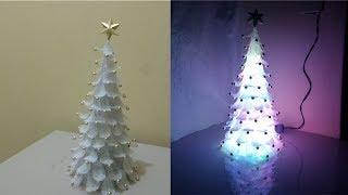 arbolito navideño de material reciclable, fácil, muy decorativo y barato