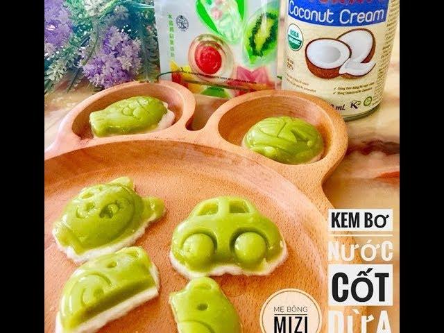 Cách Làm Món Kem Bơ Nước Cốt Dừa Cho Bé Ăn Dặm