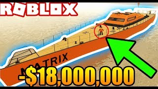I BOUGHT an $18,000,000 YACHT in ROBLOX! (Roblox Vehicle Simulator) #26