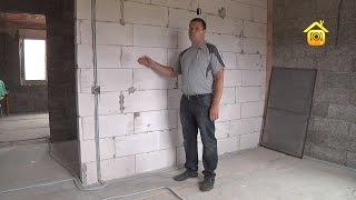 Дом из арболита. Проблемы и решения_2 // FORUMHOUSE(Больше видео на http://www.forumhouse.tv Продолжаем рассматривать особенности работы с домами из арболита. На этом..., 2013-07-29T08:16:28.000Z)
