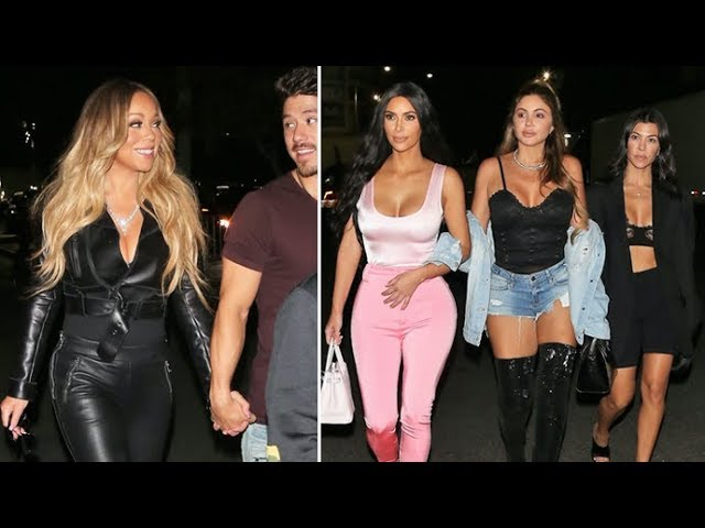 BATTLE OF THE BODS! Kim Kardashian And Mariah Carey Work It At Beyonce's Show!