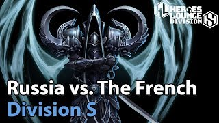 ► Heroes of the Storm: Team Russia vs. La French Team - Division S - Heroes Lounge