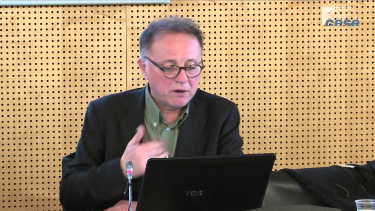 Frances Beir regarding audition de jean de beir, économiste - cese - youtube