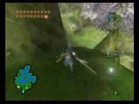 Twilight Princess: Fishing Hole Secret Area And A Weird Pig.