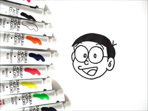 ドラえもんキャラクター のび太の描き方 How To Draw Doraemon 그림