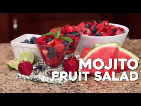 Mojito Fruit Salad (Non-Alcoholic)