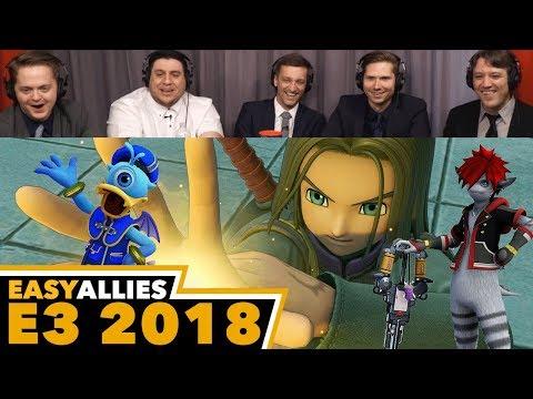 Square Enix Showcase - Easy Allies Reactions - E3 2018