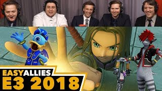 Square Enix Showcase - Easy Allies Reactions - E3 2018