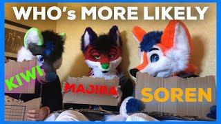 Who's More Likely (feat. Majira & Kiwi)