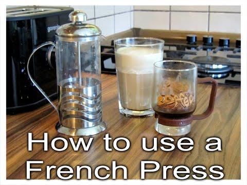 How to Use a French Press | Как да си направим кафе и капучино с френска преса