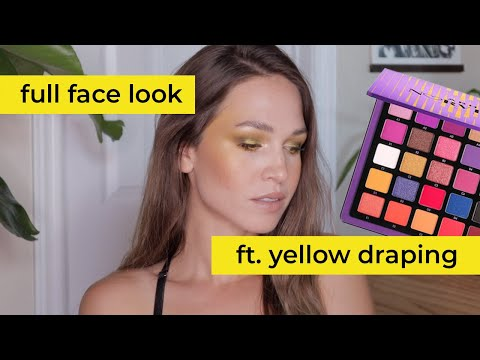 Yellow Blush Draping Using Project Pan & Shop My Stash Items | morerebe from YouTube · Duration:  31 minutes 10 seconds