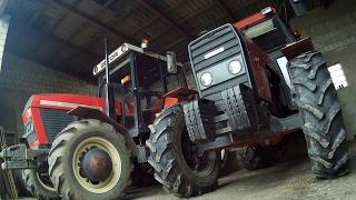 Vlog#5 !!Zamiatanie stodoły,Przestawianie Traktorów!! ;)