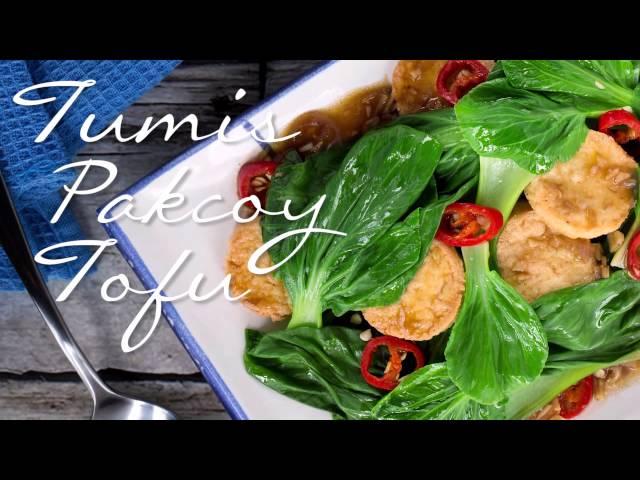 Resep Tumis Pakcoy Tofu a la Selera Nusantara