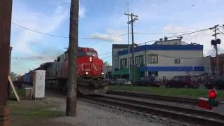 Freight Train Royal Oak. 4K