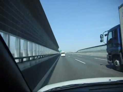 Driving to Nagoya's Centrair International Airport