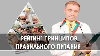 постер к видео 8 главных принципов правильного питания