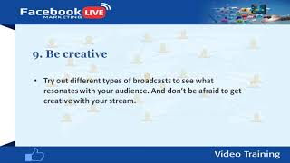 Using Facebook Live for Your YouTube Channel