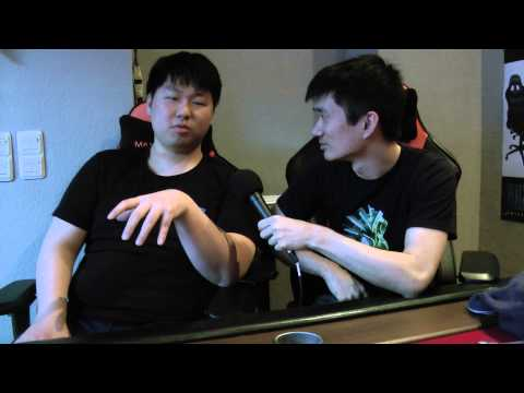 """MC: """"I know two bad words [in German] ... and food"""" Interview @ Seatstory Cup"""