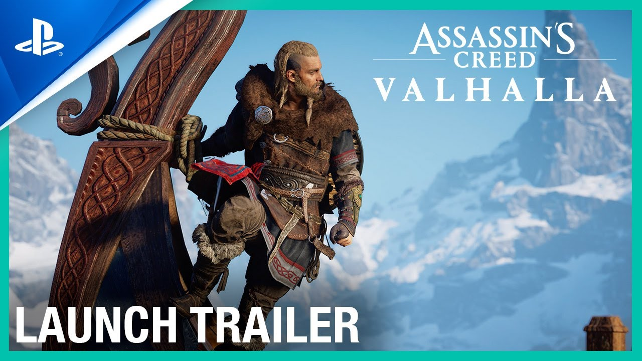 Assassin's Creed Valhalla - Bande-annonce de lancement | PS5