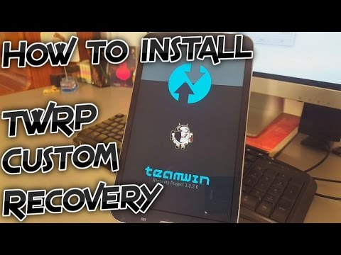 Samsung Galaxy Tab 3 How To Install Custom Recovery Twrp 3 0 2