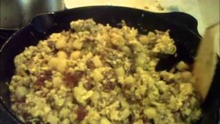 Cast Iron Mountain Man Breakfast Recipe
