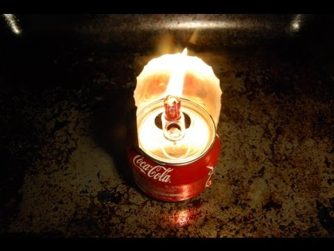 Керосинка своими руками (Масляная лампа)