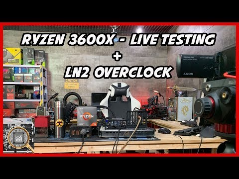 Ryzen 3600x review and World of Warcraft live testing by Hardware