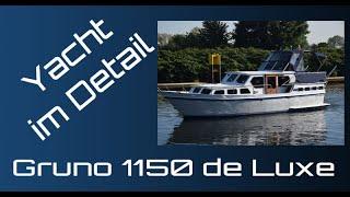 Gruno 1150 de Luxe Stahl-Yacht-Verdränger Test & Review HD 1080p