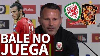 Bale no jugará el amistoso Gales-España |Diario As