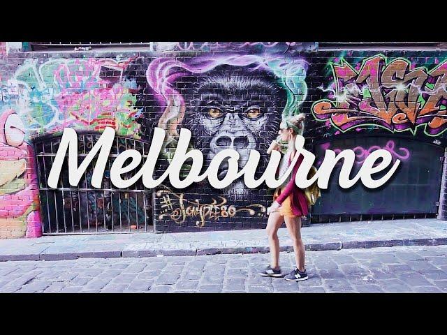 La ciudad de Melbourne en un minuto - Vivir en Melbourne