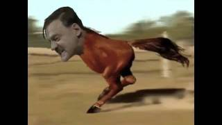 Hitler the Retarded Running Horse