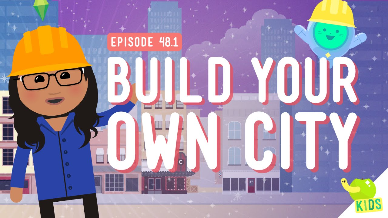 Let's Build a City: Crash Course Kids #48 1