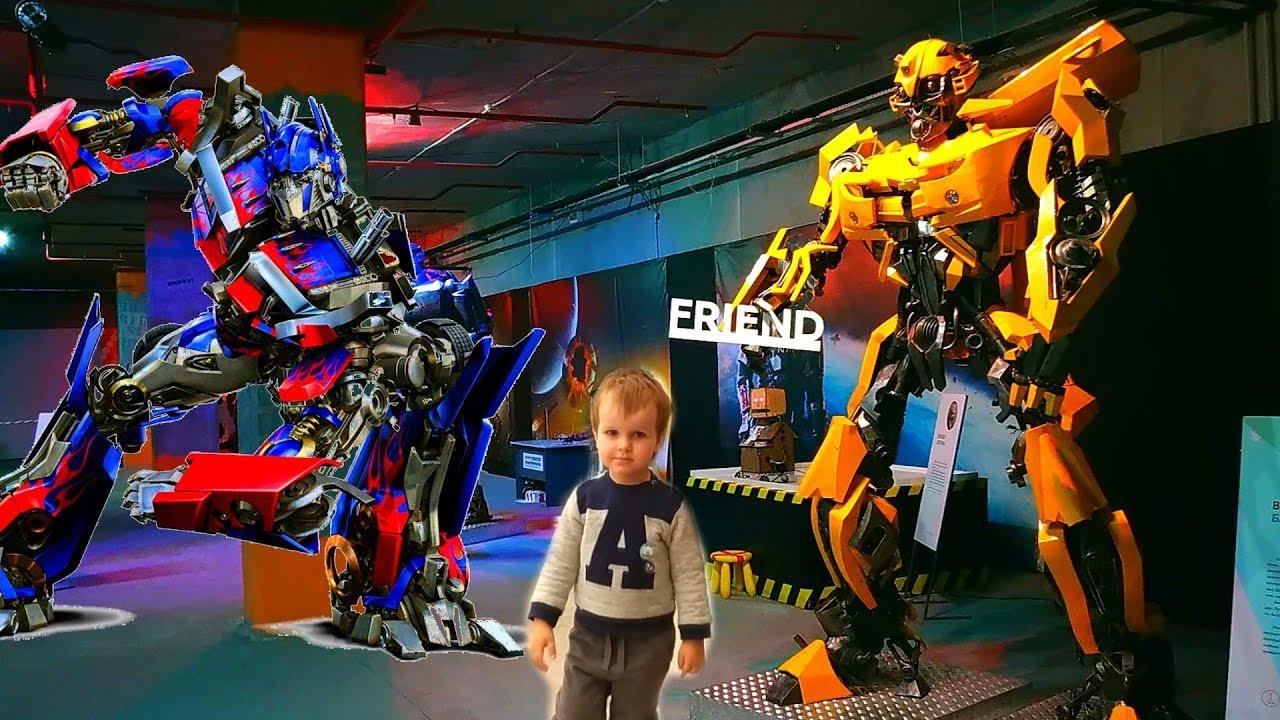 Трансформеры ОГРОМНЫЕ роботы! В реальной жизни! #БАМБЛБИ # ...