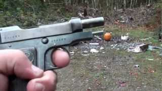 Test fire of the Beretta 1915 FIXING MORE OLD JUNK!!!