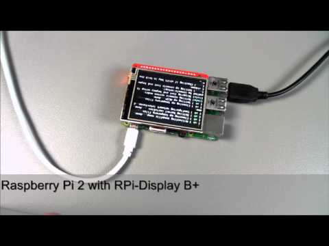 Rasperry Pi 2 with RPi-Display