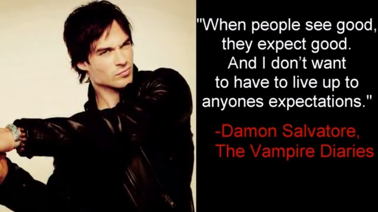When People See Good -Damon Salvator, The Vampire Diaries ...