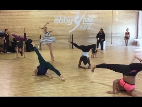 Dance Moms - Never Seen Before Behind the Scenes Group Routine Practice