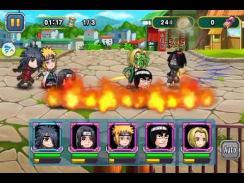 Học Viện Ninja | Giới thiệu chi tiết các ninja trong game | Phần 3 - Uchiha Itachi