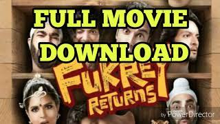FUKREY RETURN FULL MOVIE DOWNLOAD HD