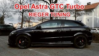 Opel Astra GTC Turbo Review - Rieger Tuning / OPC Swap / Blow Off Ventil