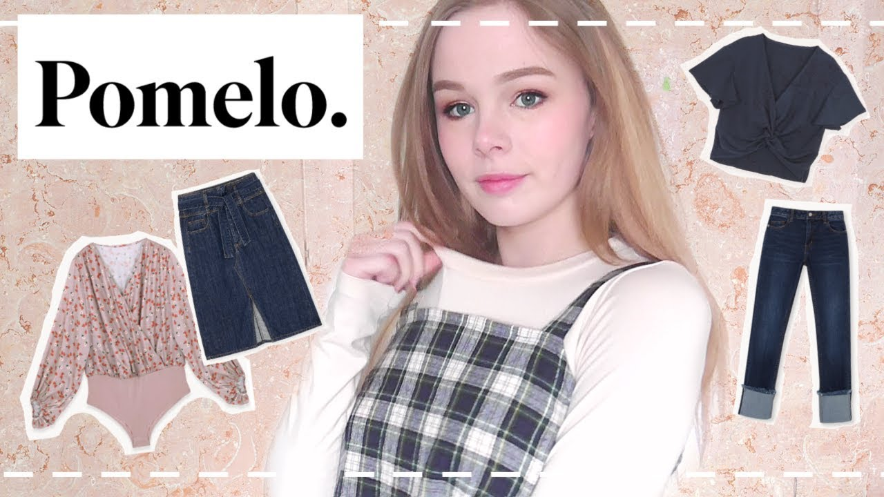 d9094d1b493 Pomelo Fashion Try on   Review 💕 - YouTube