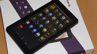Unboxing планшета Irbis TZ70