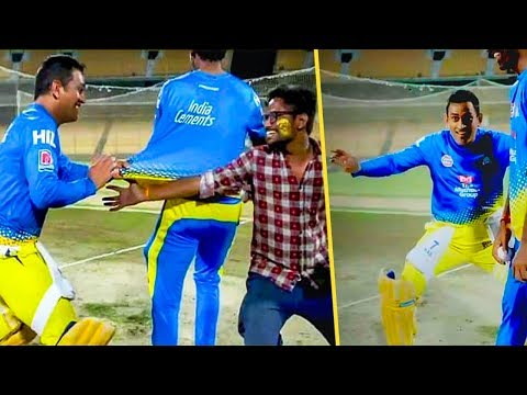 Dhoni Plays the